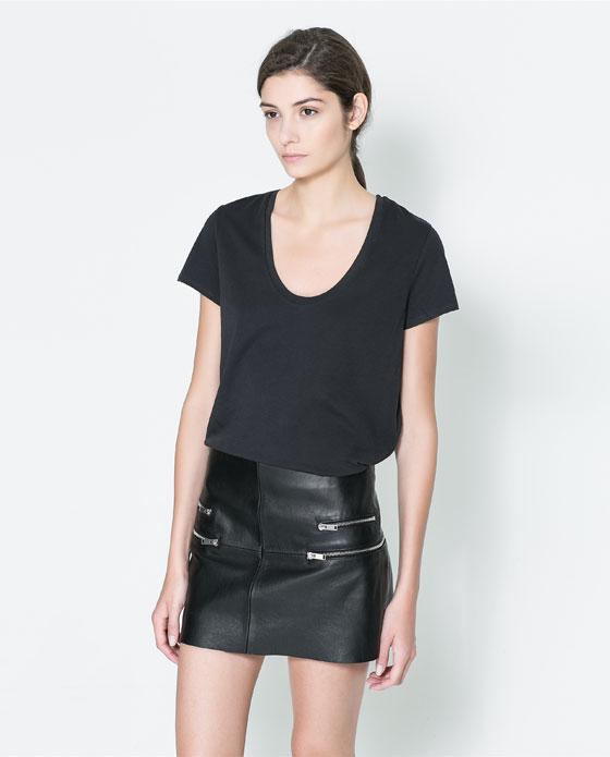 T-shirt. Courtesy of Zara.