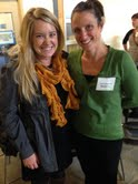 Some of the folks who make it all happen. Alexa from YouthCare and Carly from United Way of King County.