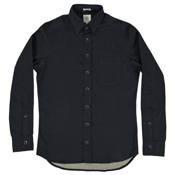 Black sanded canvas mechanic shirt. $125. Taylor Stitch.