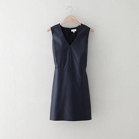 Thia leather dress. $745. Steven Alan.