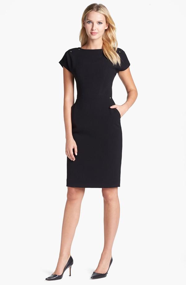 Stud detail scoop back sheath dress. Rachel Roy. $348. Nordstrom.
