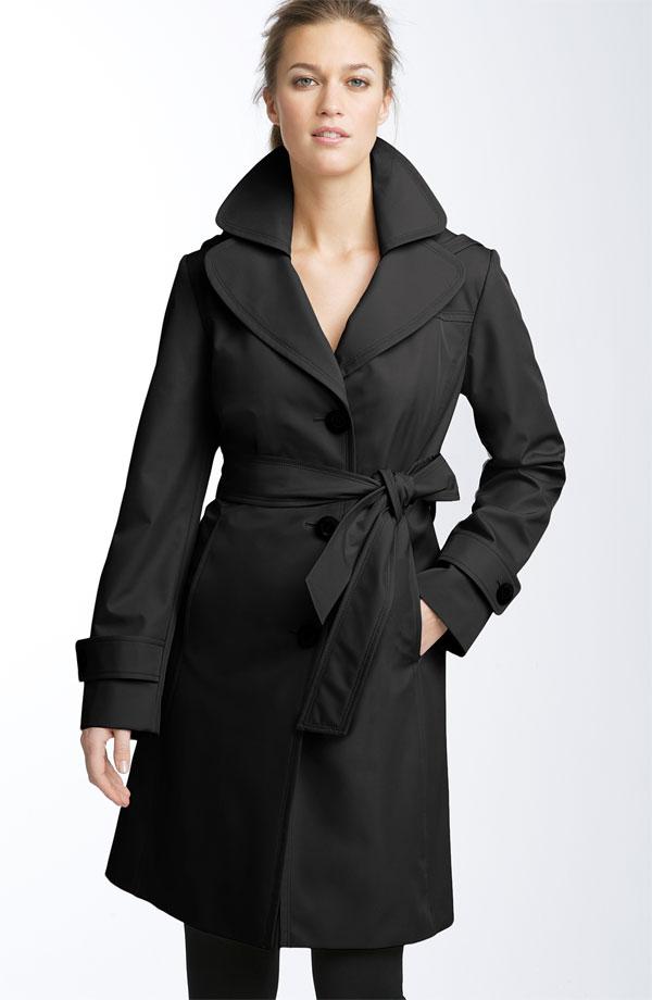 Ellen Tracy Short hooded trench. $179.90. Nordstrom.