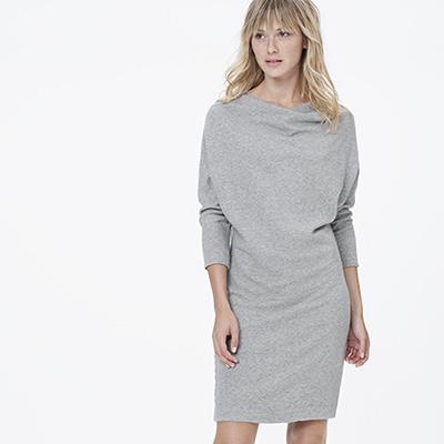 James Perse Vintage fleece dolman dress. $155. JamesPerse.com.