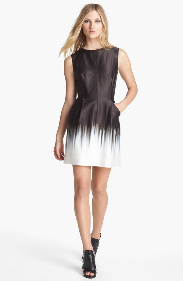 Milly Coco print sheath dress. $385. Nordstrom.