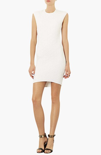 Topshop Quilted body con dress. Nordstrom. $70.