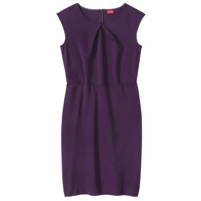 Merona Women's ponte crossover neckline dress. Target. $27.99