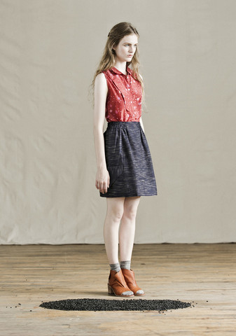 Feral Childe Spade skirt. $158. Feral Childe.com.