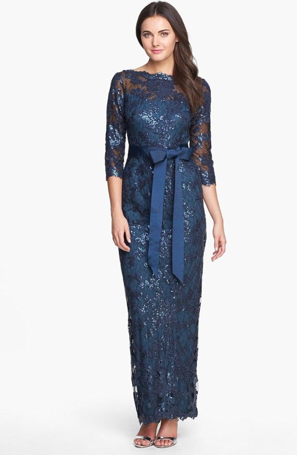 Tadashi Shoji. Embellished lace gown. Nordstrom.  $438. This is killing me. Is this it?