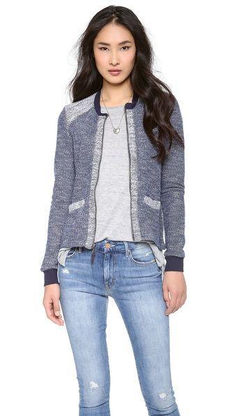 SplendidBouclé active jacket. Shopbop. $148.