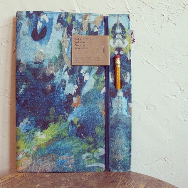 Extra large notebook by R&L Goods. Velouria. $32.