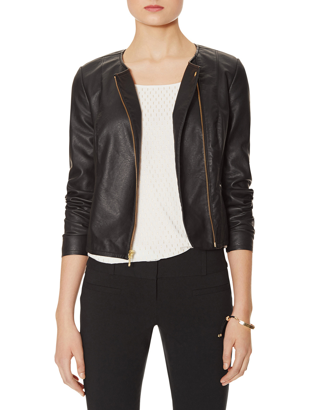 Asymmetrical moto jacket. The Limited. $128. ***Jackets are an extra 60% off right now. Code: WARMUP.***