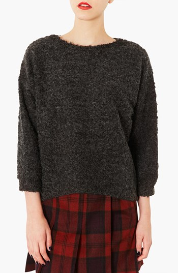 Topshop Textured sweater. Available in multiple colors. Nordstrom. $50.