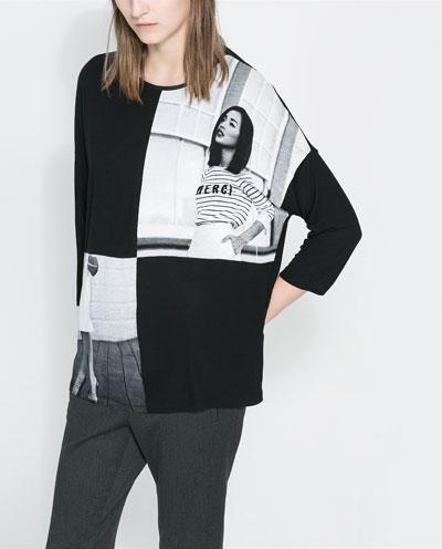 Print t-shirt. Zara. $29.90.