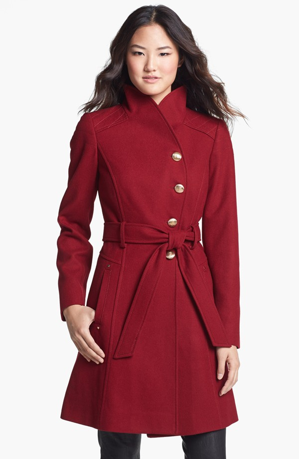 Guess Wool belted asymmetrical coat. Also available in black. Nordstrom. $168.