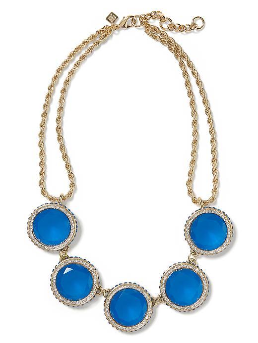 Gumdrop necklace. Banana Republic. $59.50