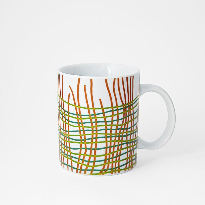 Alliance for Artisan Enterprise mug. Sales benefit the organization. West Elm. $10.