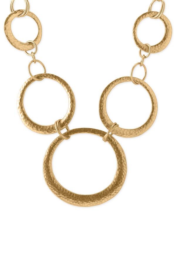 Lauren Ralph Lauren Hammered circle necklace. Nordstrom. $54.