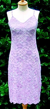 Laura Lilac lace nightgown. Make Me Heal. $89.95.