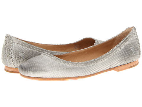 Frye Carson ballet sky textured nubuck. 6PM.com. MSRP $158. Now: $59.99.