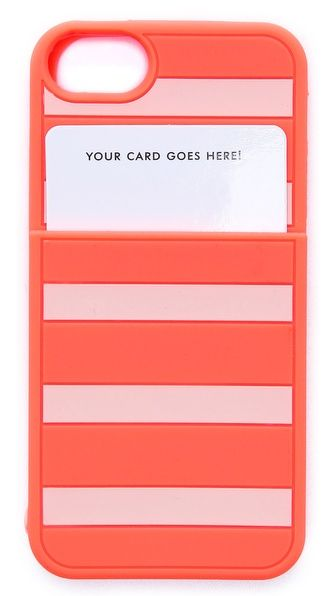 Kate Spade New York Gabrielle Stripe Pocket iPhone 5/ 5s case. Shopbop. $35.