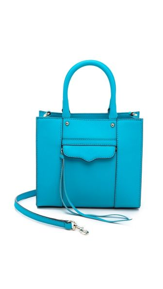 Rebecca Minkoff Neon MAB mini tote. Available in multiple colors. Shopbop. $195.