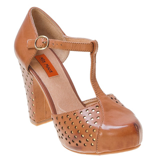 Miz Mooz Fancy Pump. Available in whiskey (shown) and brown. Infinity Shoes. Was: $139.95 Now: $79.95.