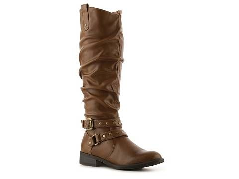 White Mountain lexi wide calf riding boot. Available in multiple shades of brown or black. DSW. Compare at; $79. Now: $39.95.
