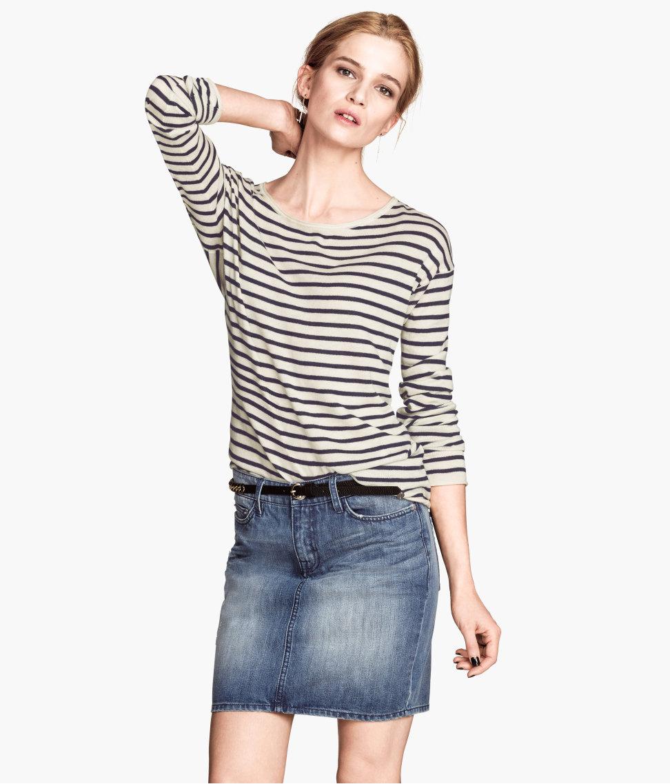 Denim skirt. H&M. $29.95.