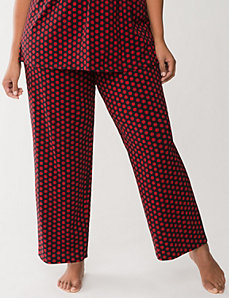 Polka dot sleep pants. Plus Size. Lane Bryant. $32.95. BOGO 50% off.