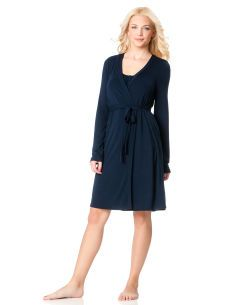 Empire waist nursing nightgown and robe. Motherhood Maternity. $39.98.