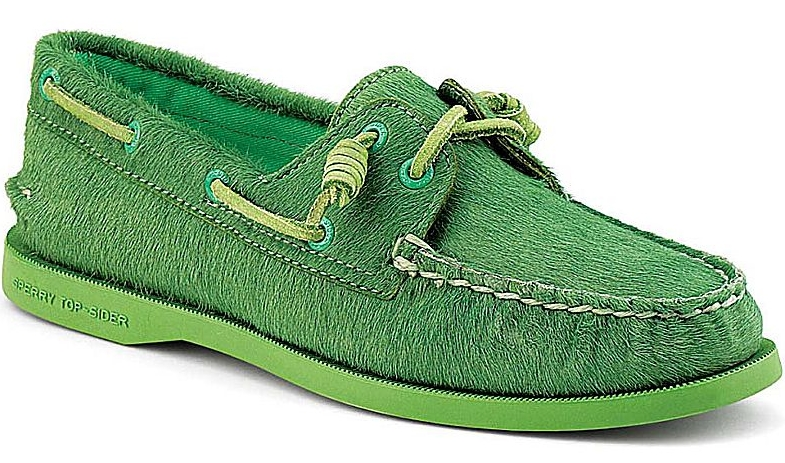 Sperry Top-Sider Authentic original barrel lace boat shoe by Jeffrey. Sperrytopsider.com. $150.