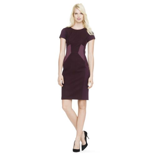 Shae paneled sheath dress. Club Monaco. $249.