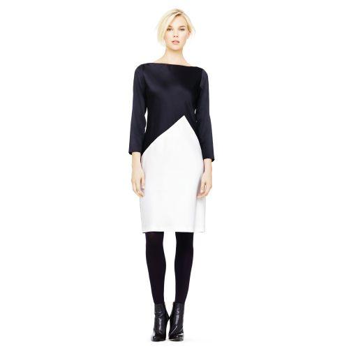 Geraldine silk charmeuse dress. Club Monaco. Was: $349. Now: $279.