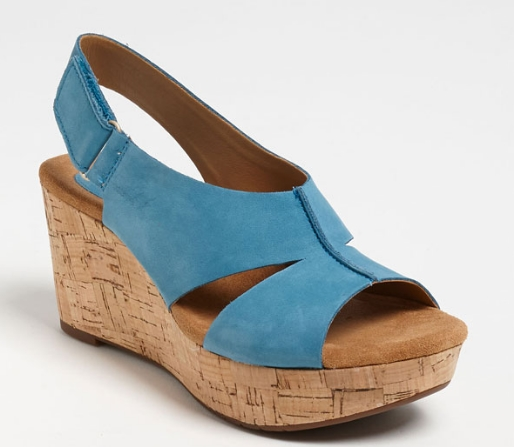 Clarks Cassylynn Lizzie sandal. Available in multiple colors. A comfort shoe. Nordstrom. $109.95