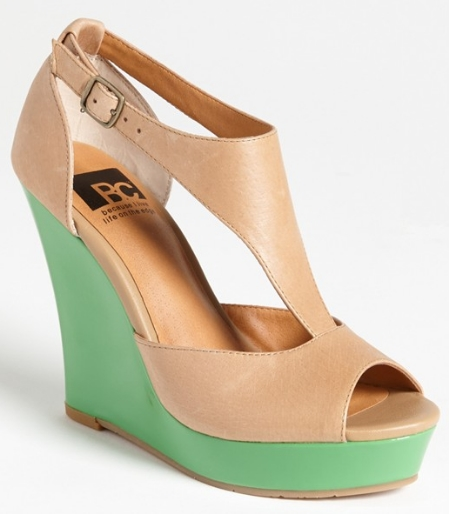 BP Lickety split wedge sandal. Nordstrom. Was: $69.95 Now: $34.96.