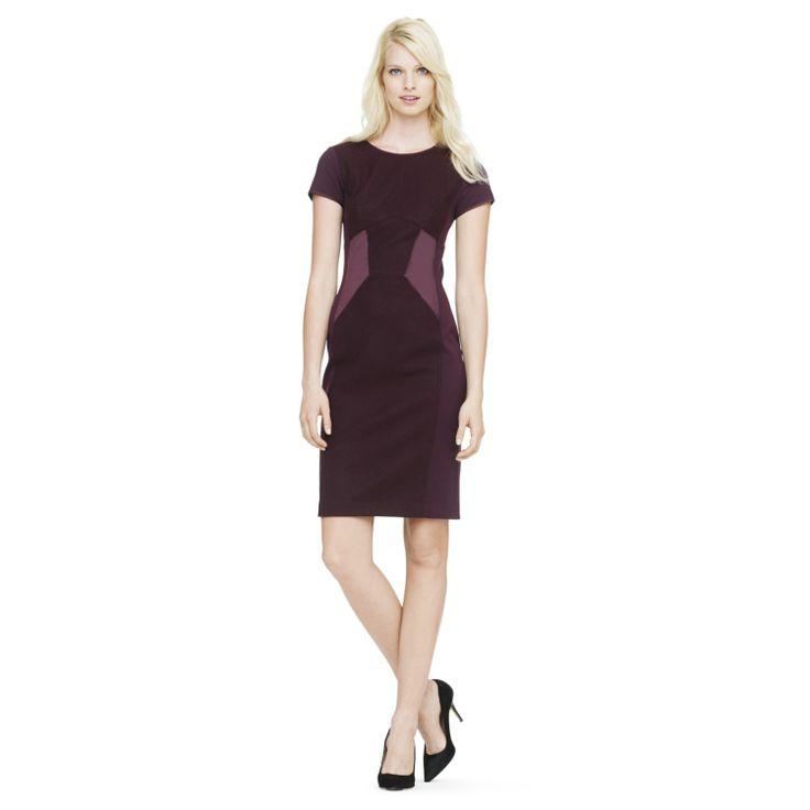 Shae paneled sheath dress. Club Monaco. $249.
