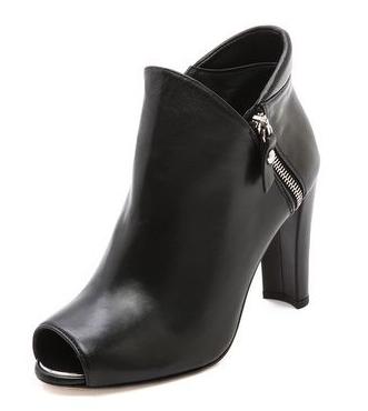 Stuart Weitzman Jump Open toe ankle booties. Shopbop. $498.