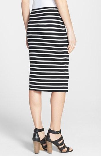 Vince Camuto Retro Stripes Midi Tube skirt. Nordstrom. $59.