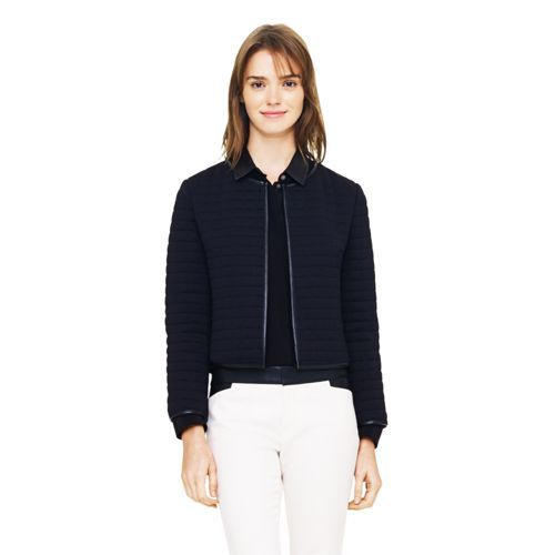 Breanna quilted knit jacket. Club Monaco. $169.50.