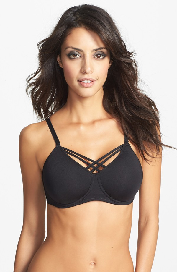 Marlies Dekkers Dame de Paris care unwire padded bra. Available for prosthesis. Nordstrom. $99.
