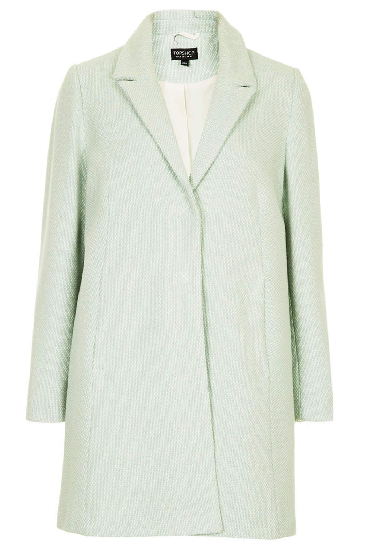 Topshop Textured swing coat. Topshop. $178.