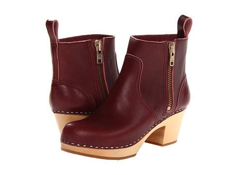 Swedish Hasbeens Zip It Emy Bordeaux. Zappos. Was: $389.49 Now: $272.99.
