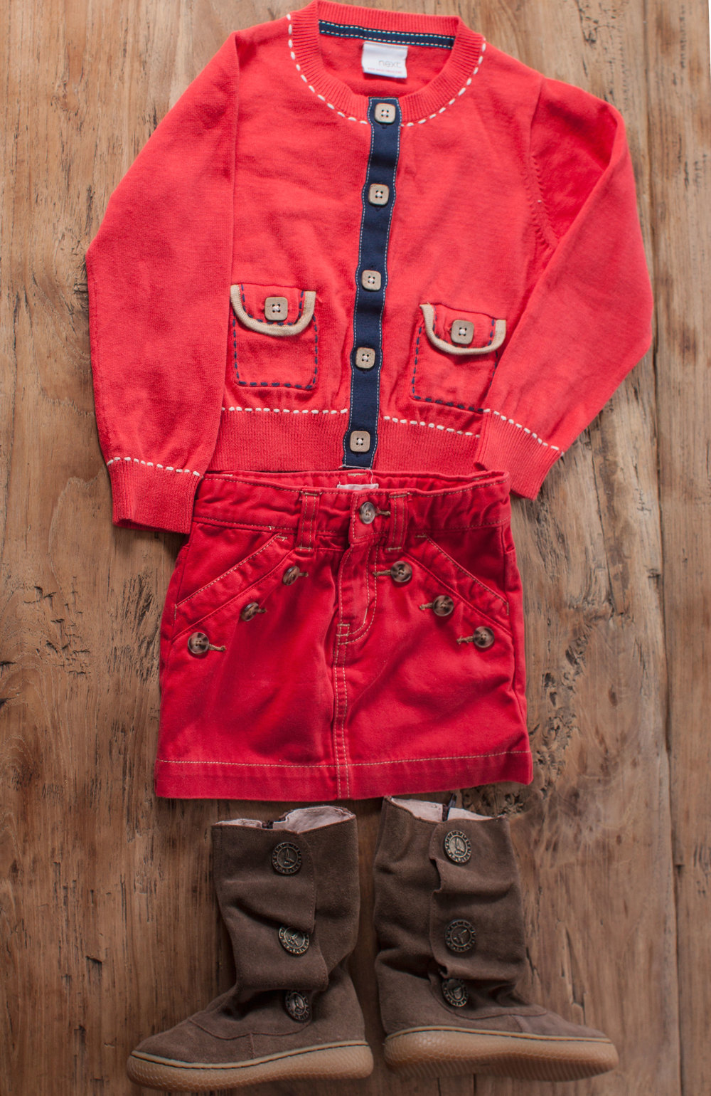 Image includes Girls Next UK red cardigan. Size: 2T $6.50.