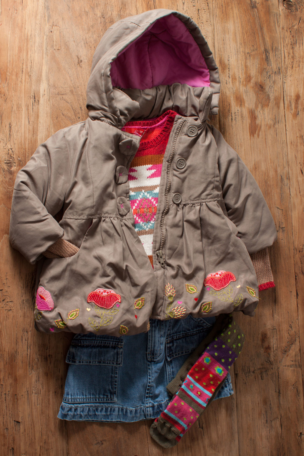 Image includes Girls John Lewis coat. Size: 18 months. $22.50.