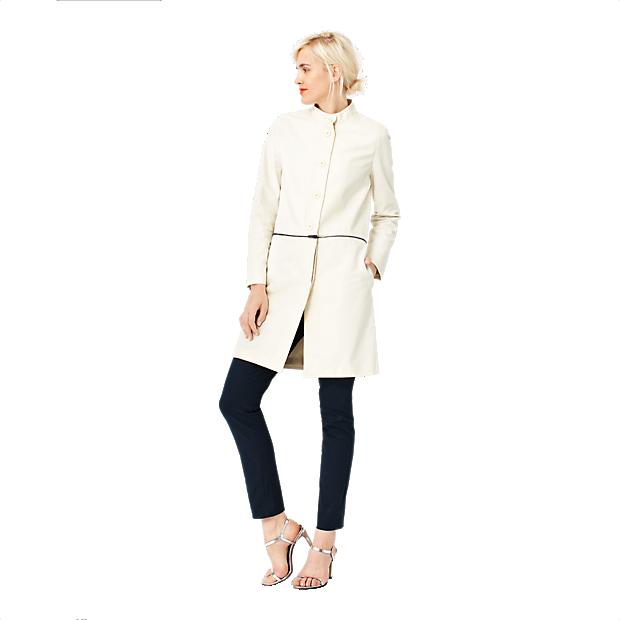 Kate Spade Two-Way coat. Zips into a short jacket. Saturday.com. $220.