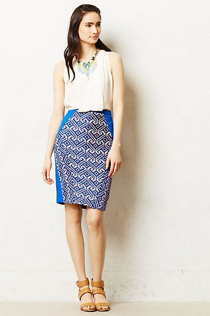 Saidia Pencil skirt. Anthropologie. $168.