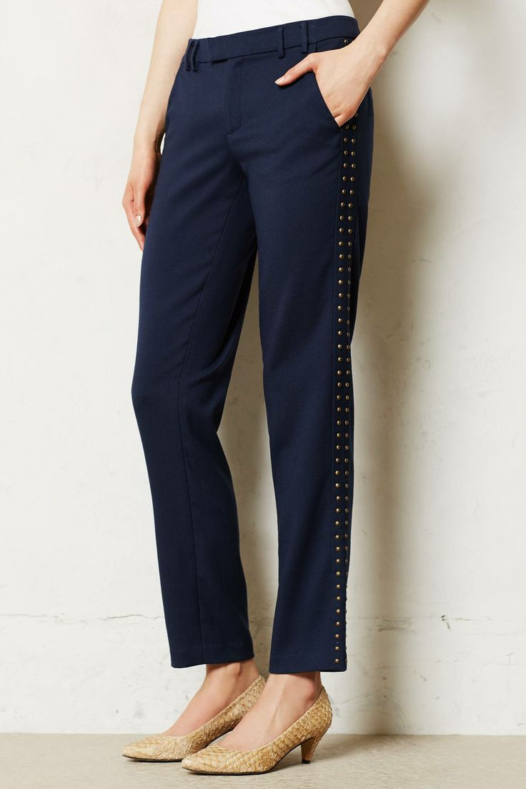 Studded Lou trousers. Anthropologie.com. $148.