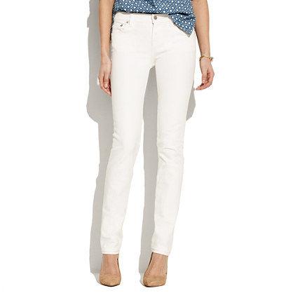 Rail Straight jeans. Madewell. $98.50.