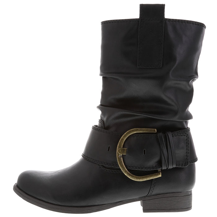 Short Pacey Buckle Boot. Payless Shoe Source. Was: $49.99 Now: $17.