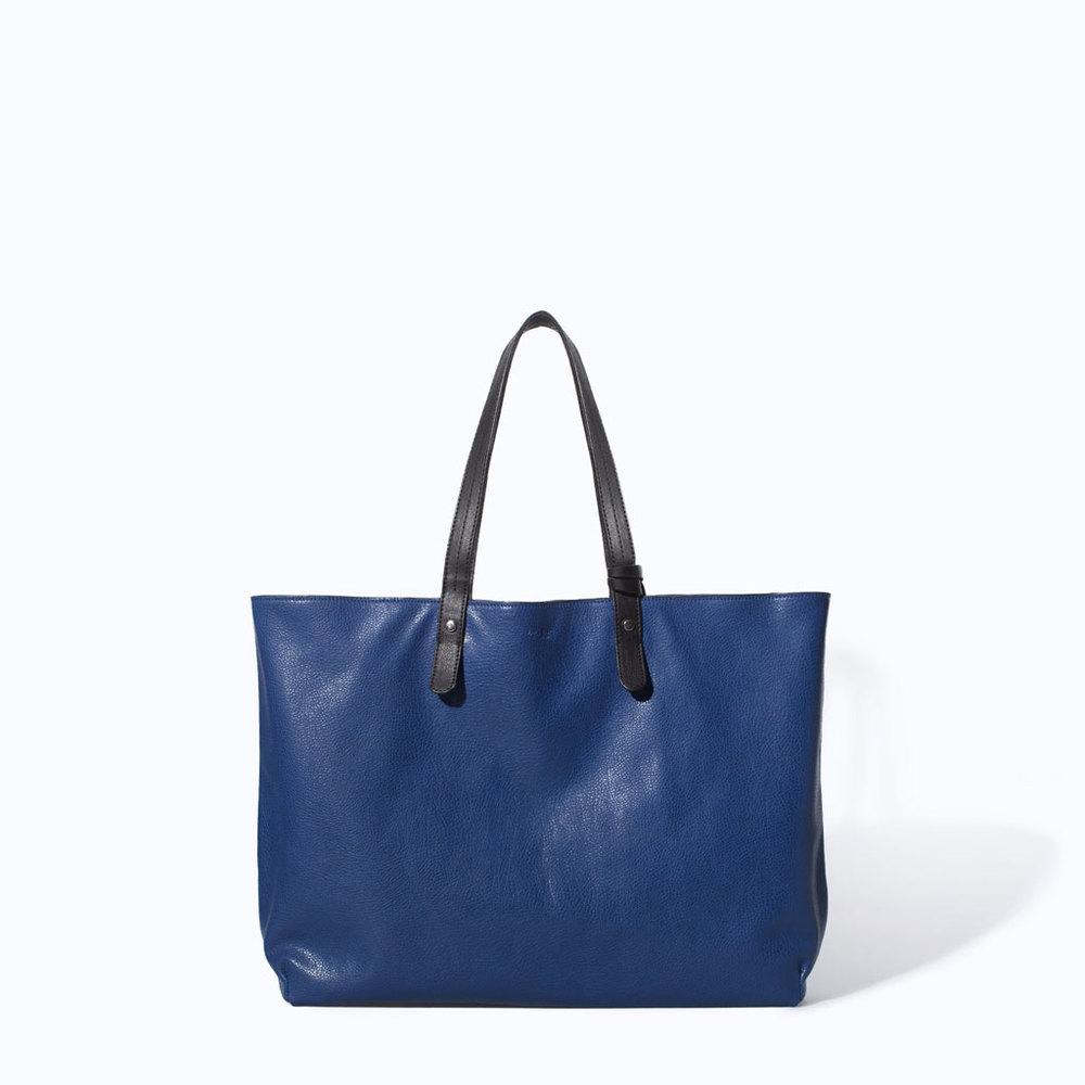 Reversible shopper. Zara. $19.99